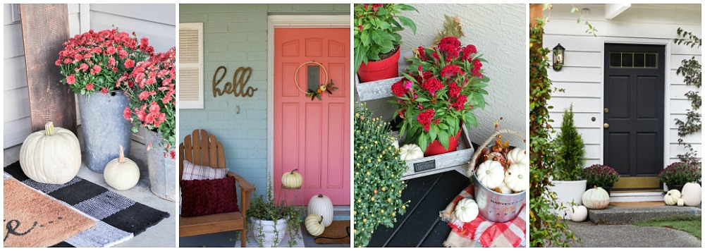 Beautiful Collection Of Fall Front Porch Decorating Ideas