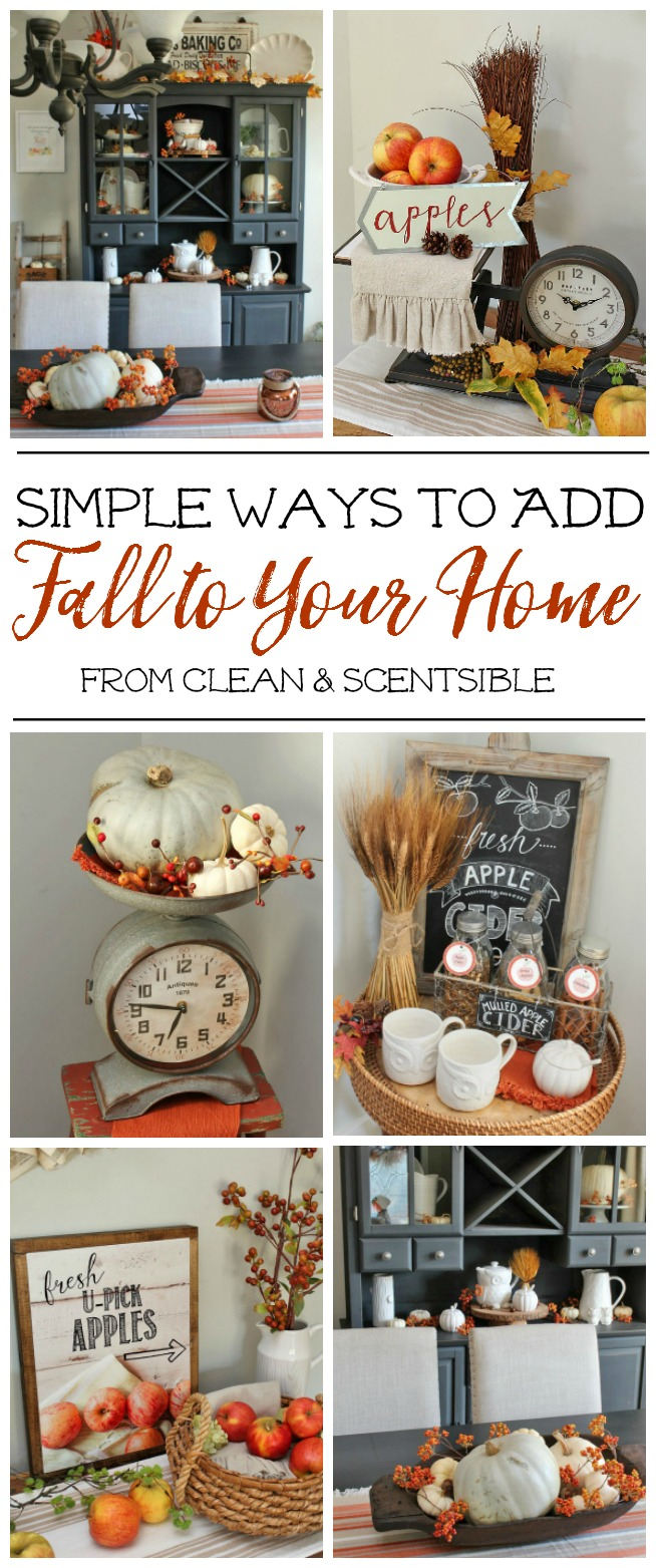 Beautiful fall decor ideas that are easy to replicate in your own home.