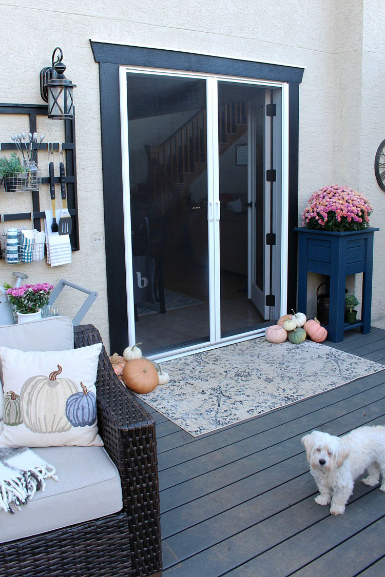 Retractable screen doors for french doors.