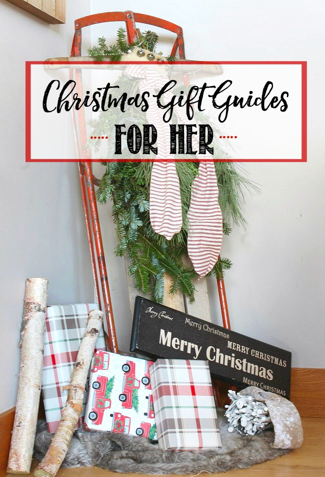 Beautiful Christmas Gift Guides for Her. Lots of ideas for even the hardest to buy for!