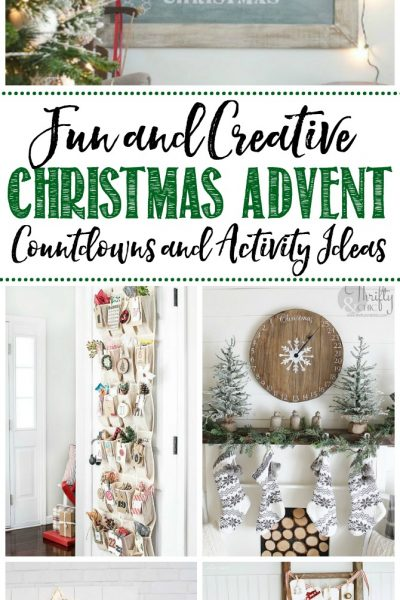 Make Christmas even more magical with these fun and creative Christmas advent countdowns and activity ideas. Printables, activity ideas, and easy DIYs included.