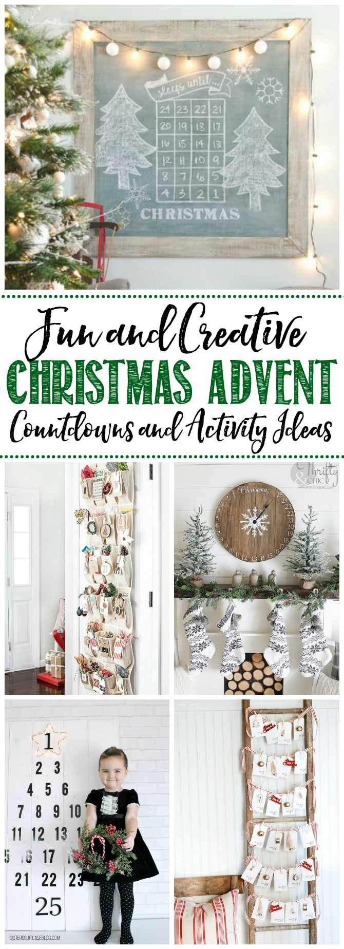 Fun Christmas Advent Calendar Ideas Clean And Scentsible