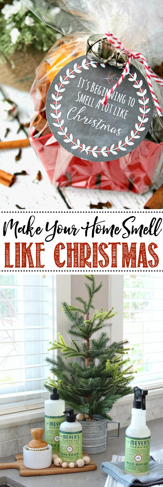 Easy ways to make your home smell like Christmas! Love this!