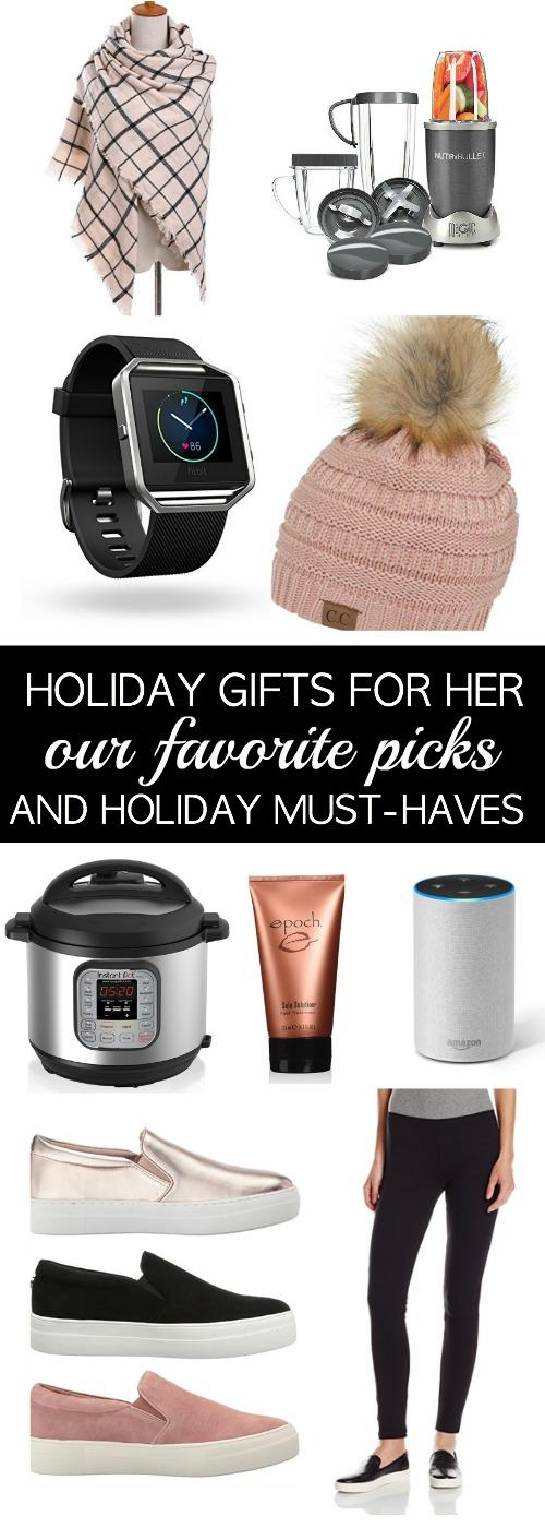 Awesome Christmas Gift Guide for Her. Fabulous gifts for even the hardest person to buy for!