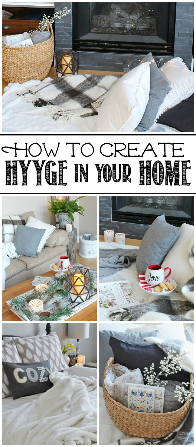 Easy ways to add hygge to your home this winter.