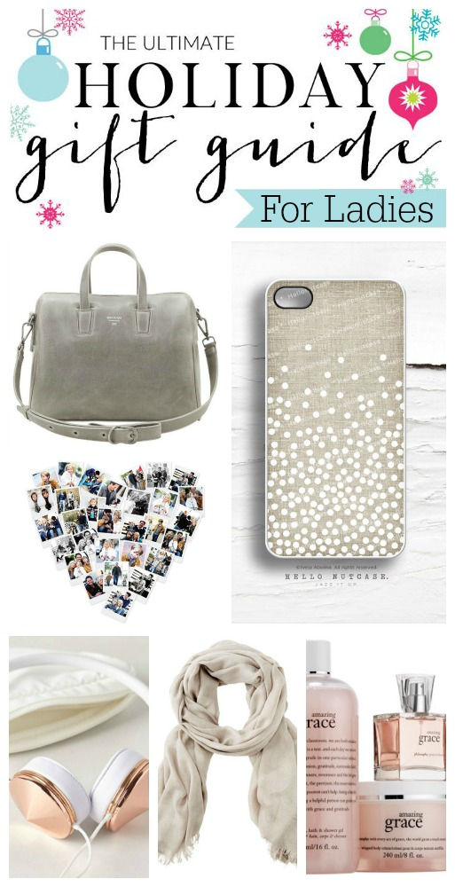 The ultimate holiday gift guide for her. Love these items!