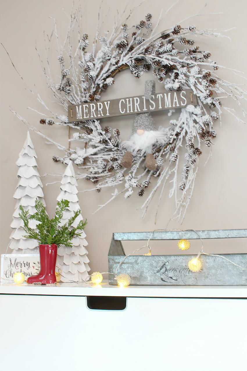 Christmas Front Entry Decorating Clean And Scentsible