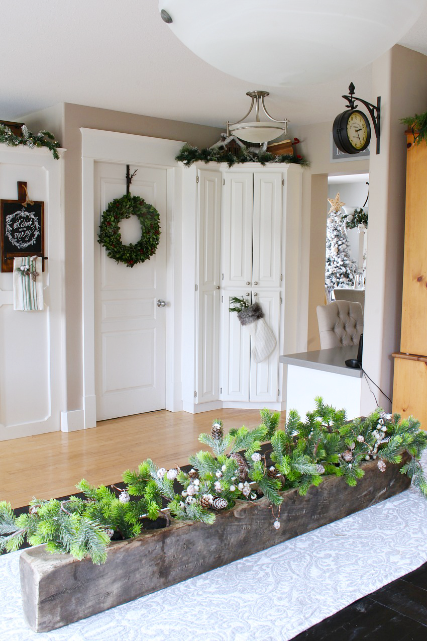 Christmas Kitchen Decorating Ideas - Clean and Scentsible