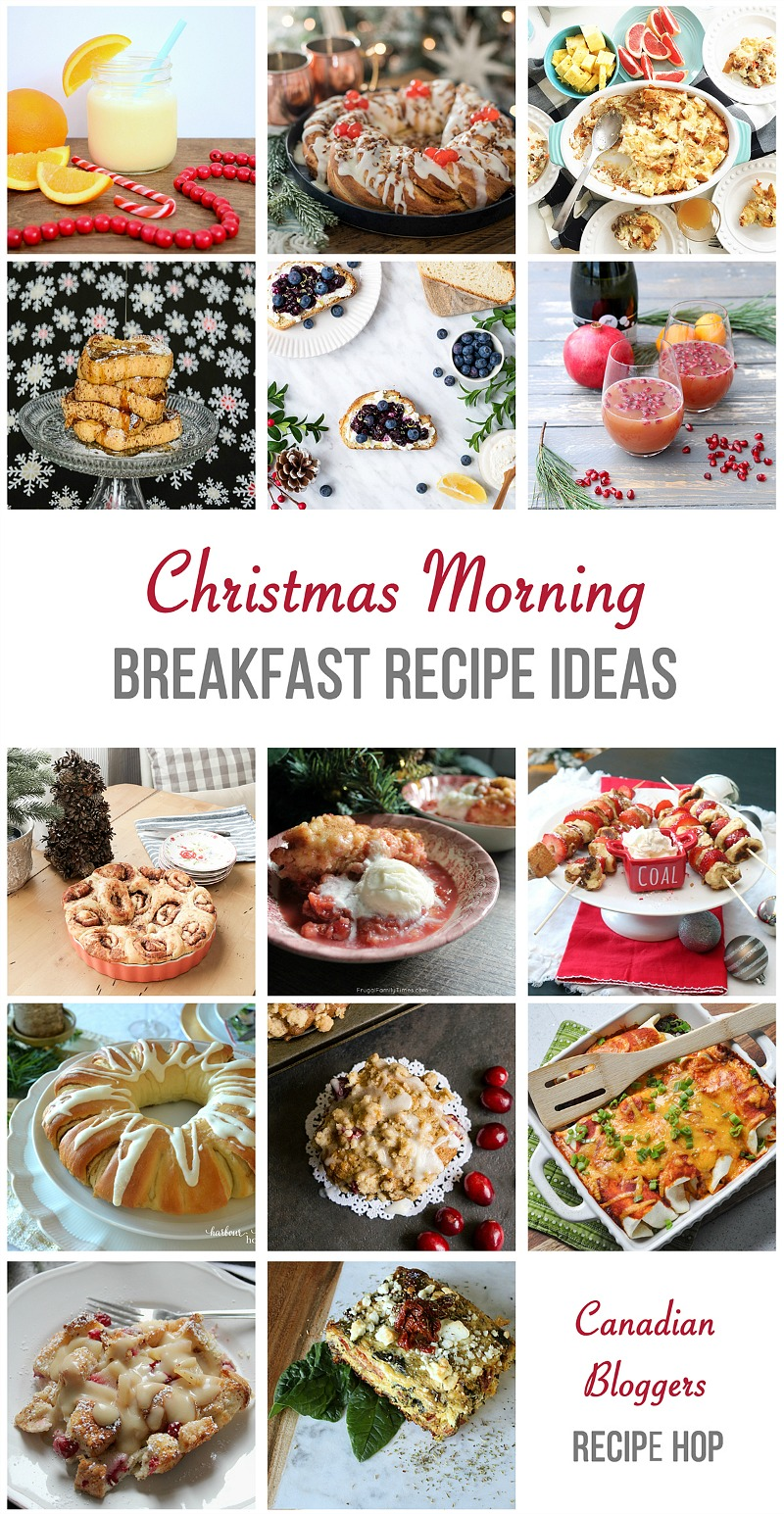 A delicious collection of Christmas morning breakfast recipe ideas. Easy recipes to start off your Christmas Day!