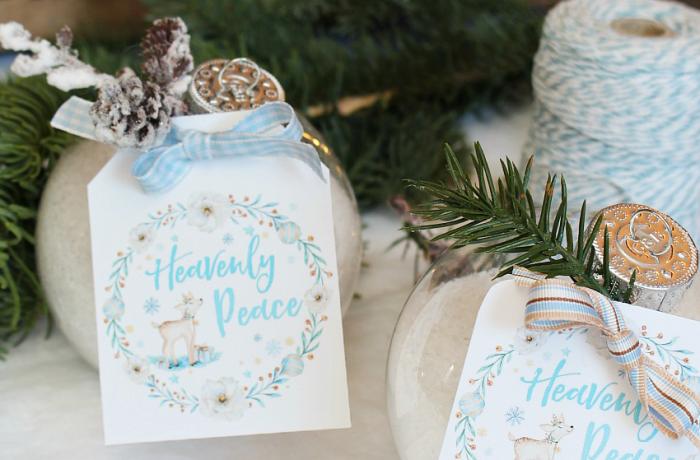 DIY Bath Salts Christmas Gift Idea and Free Printable Gift Tag