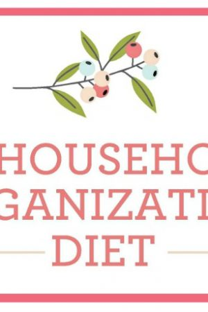 The Household Organization Diet