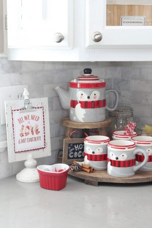 Valentine's Day Hot Chocolate Bar Printables