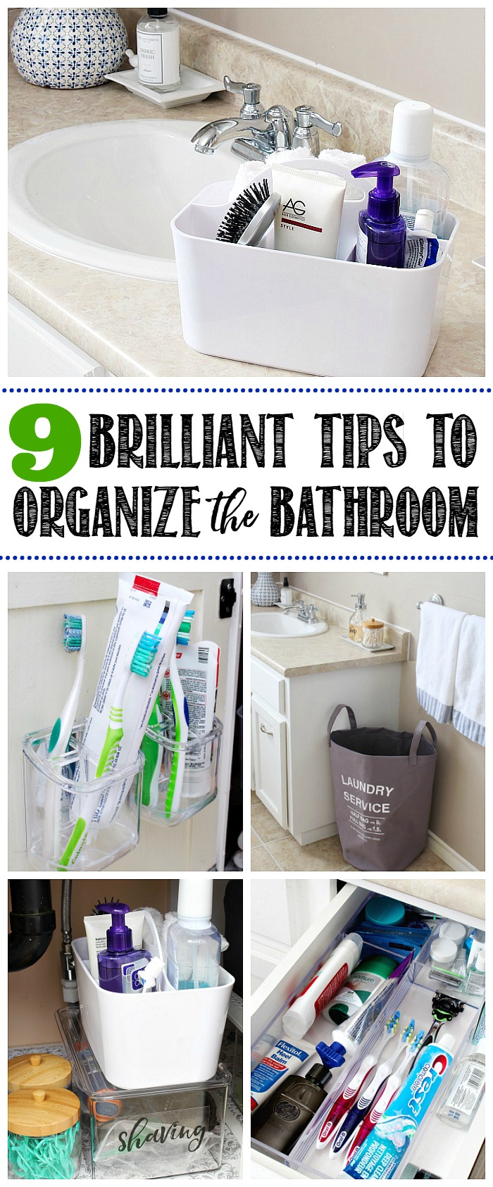 small bathroom organizing ideas 9 easy tips to organize the bathroom clean and scentsible 21815