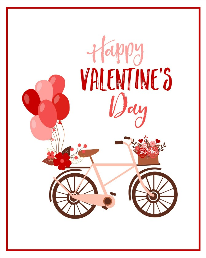 Free Happy Valentine's Day Printable
