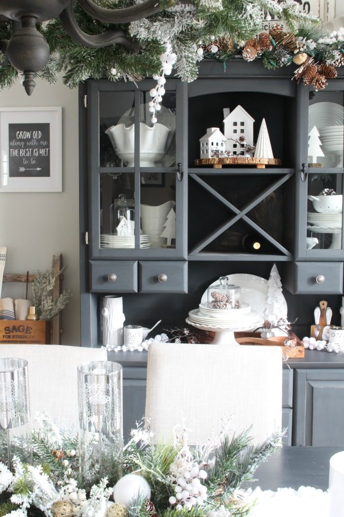 Winter decorating ideas.