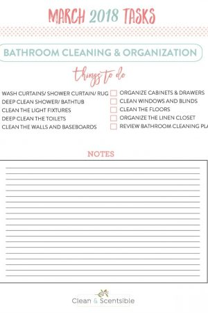 How to Keep Your Bathroom Cleaned and Organized
