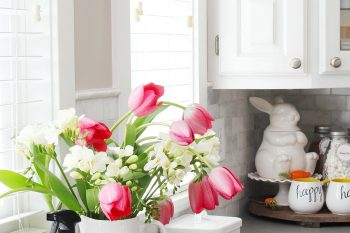 Simple Spring Decorations for the Kitchen