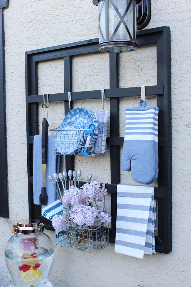 DIY Outdoor Organizer