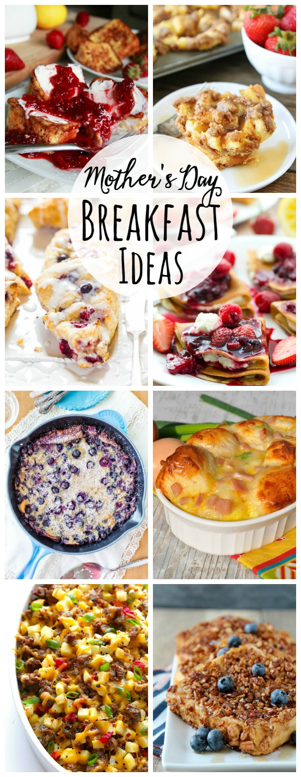 Collection of brunch recipes.