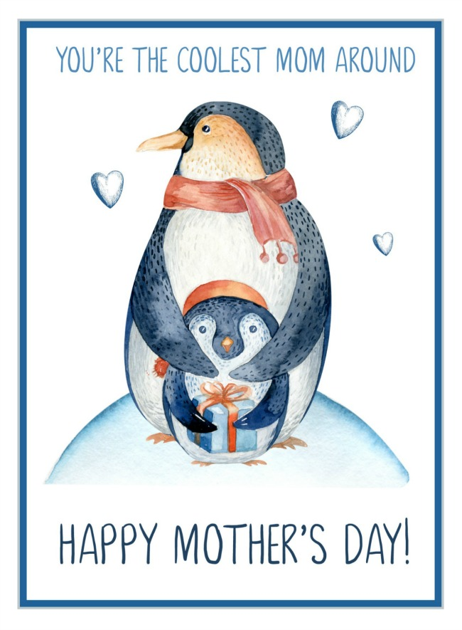 Free Mother's Day Cards. You're the coolest Mom.