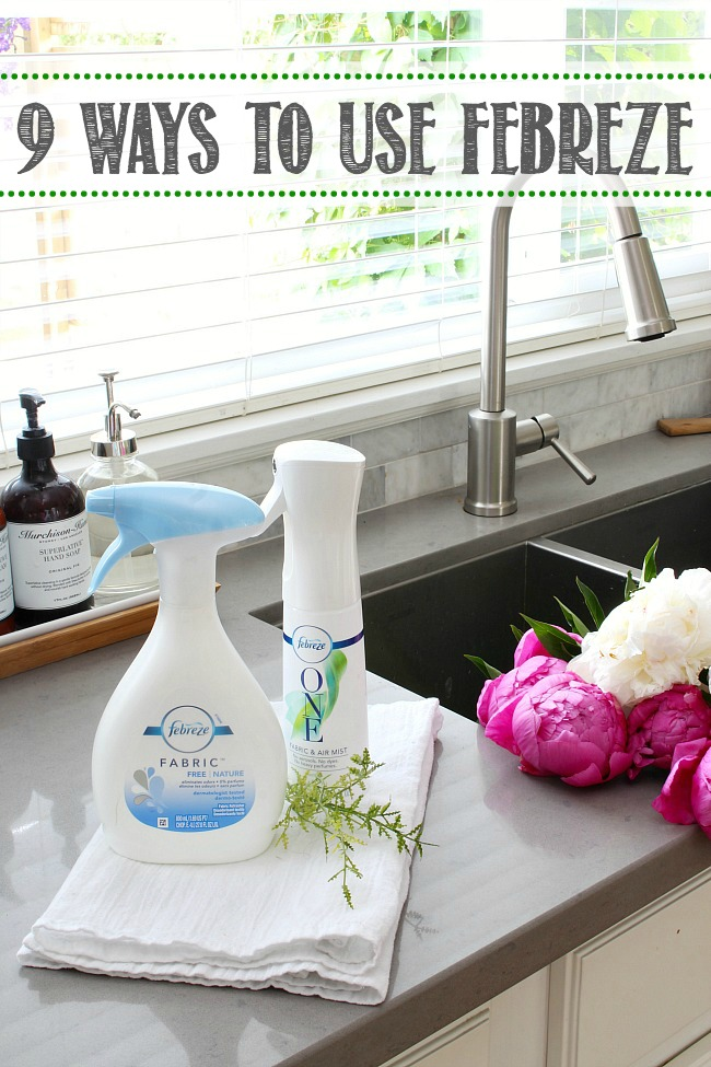 9 Ways to use Febreze
