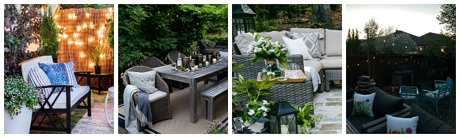 Gorgeous collection of outdoor decor ideas!