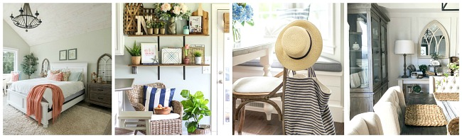 Collection of beautiful summer home tours.