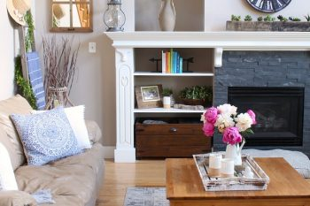 Modern Farmhouse Summer Living Room Decorating Ideas