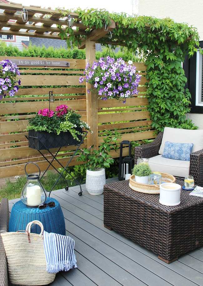 Backyard Patio Decorating Ideas outdoor living - summer patio decorating ideas - clean and scentsible