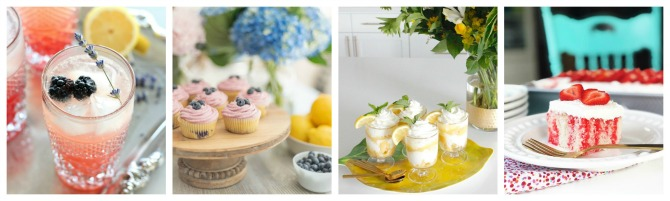 Delicious collection of summer recipes.