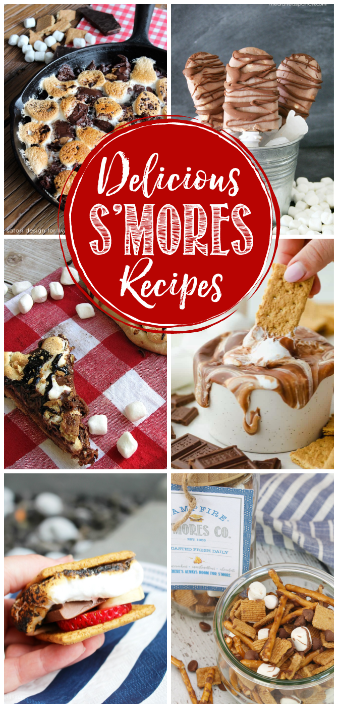 Delicious collection of the best s'mores recipes.