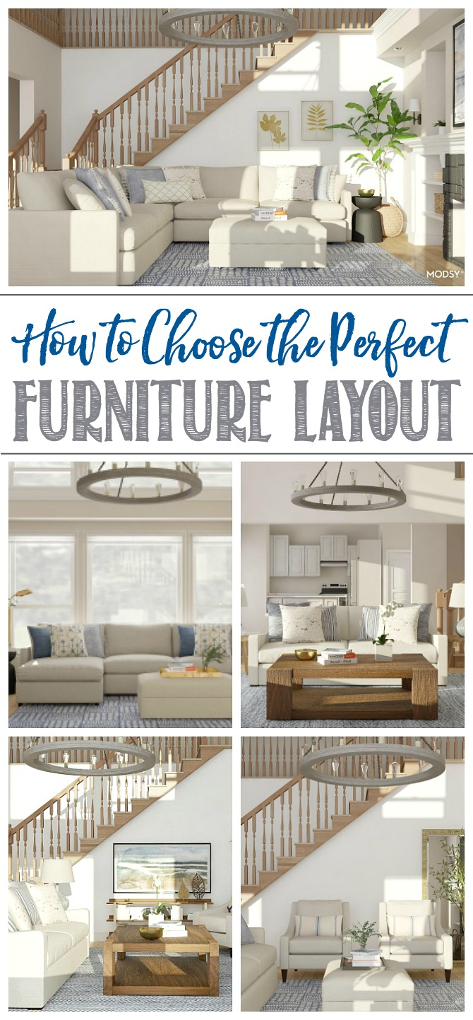 How to Design the Perfect Furniture Layout - Clean and ...