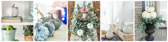Beautiful collection of fall crafts and DIY projects.