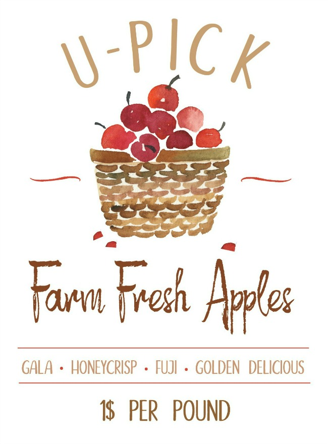 U-Pick Farm Fresh Apples free download.