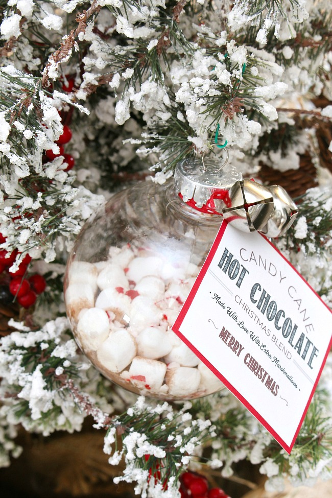 Free Printable Christmas Ornaments.Hot Chocolate Gift Ornament Clean And Scentsible