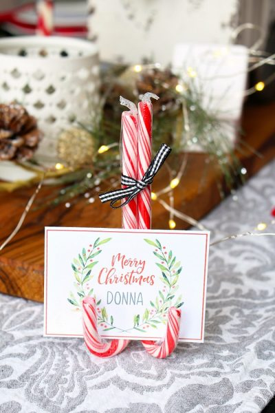 Christmas Printables – Free Printable Christmas Place Cards