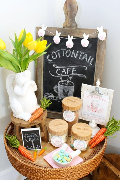 Easter Hot Chocolate Bar Printables