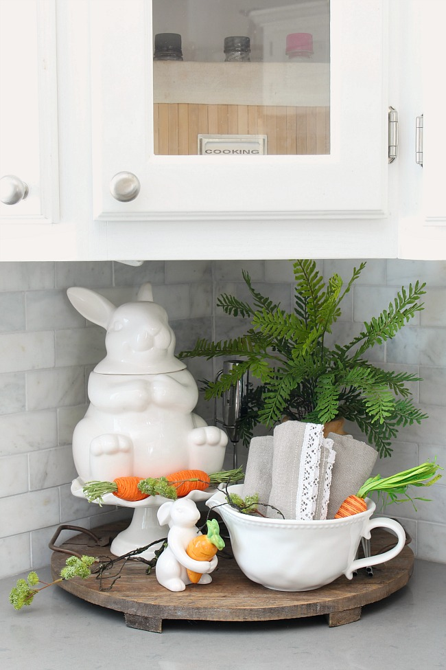 Kitchen Spring Decor Ideas - Clean and Scentsible on ideas for decorating sunroom, ideas for decorating basement, ideas for decorating dining room, ideas for decorating tiles, ideas for decorating home, ideas for decorating living room, ideas for decorating den, ideas for decorating bedroom, ideas for decorating family room, ideas for decorating fireplace,