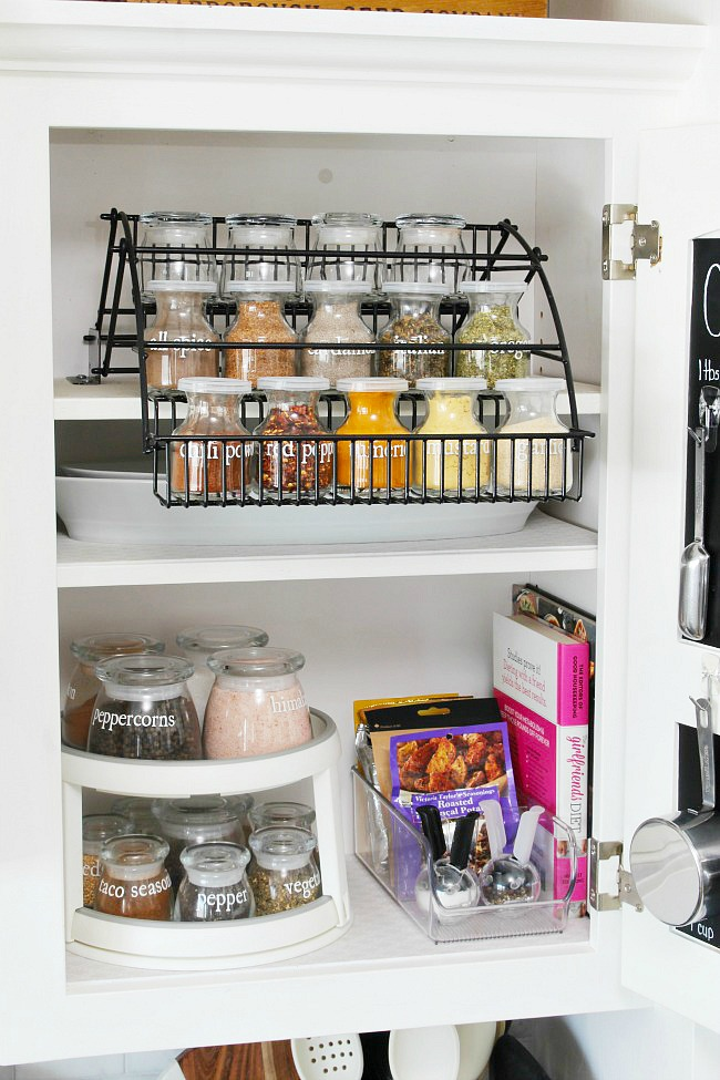 Spice Jar Labels And Spice Organization Ideas Clean And Scentsible