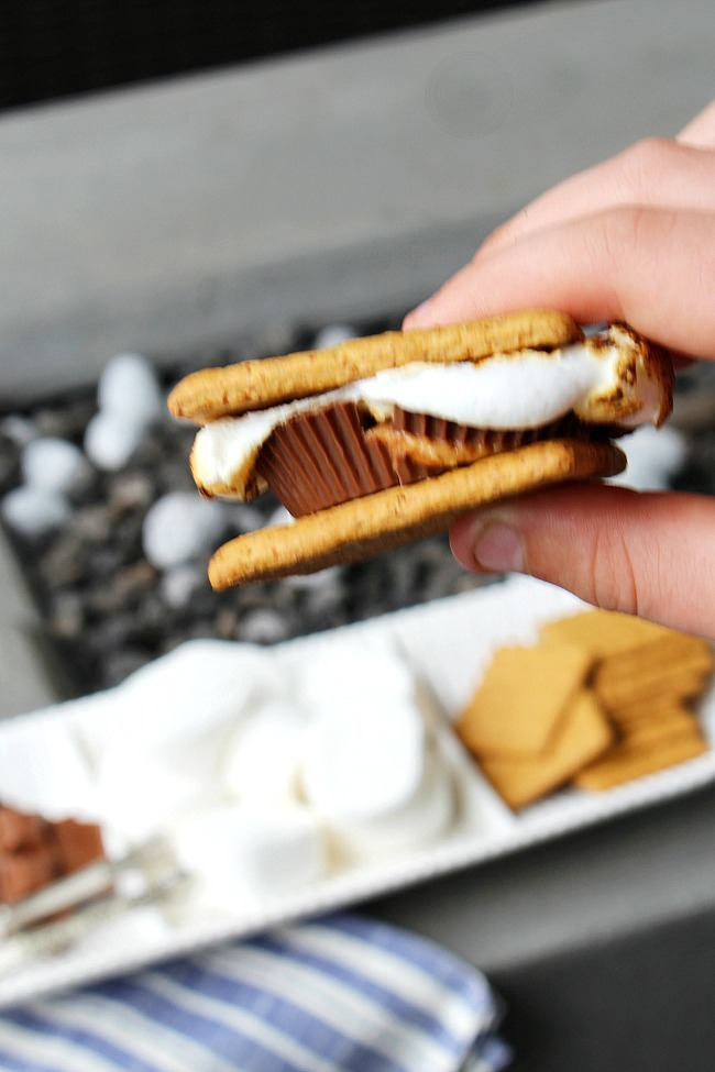 Peanut butter cup s'mores.