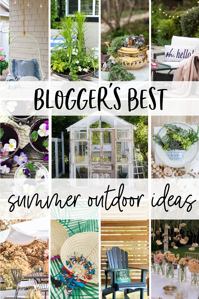 Collection of beautiful summer outdoor ideas