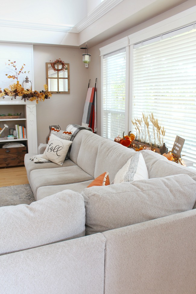 Fall Living Room Decor Clean And Scentsible