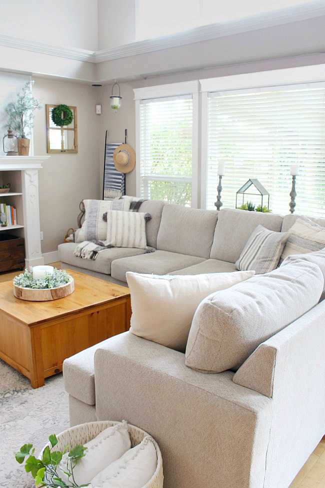 Our Updated Living Room Design Clean And Scentsible