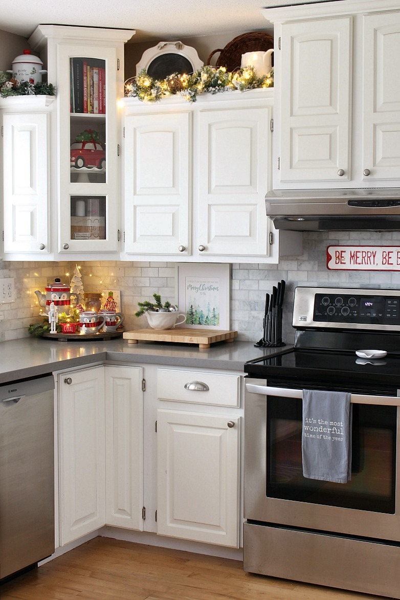 Christmas Kitchen Decor Ideas Clean And Scentsible