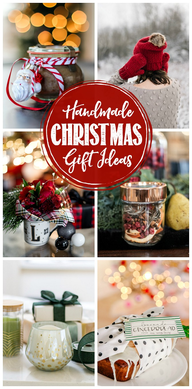 Beautiful collection of handmade Christmas gift ideas.