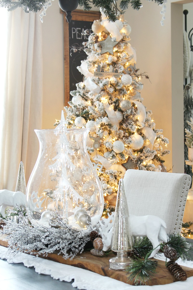 Christmas Dining Room Decor Clean And Scentsible