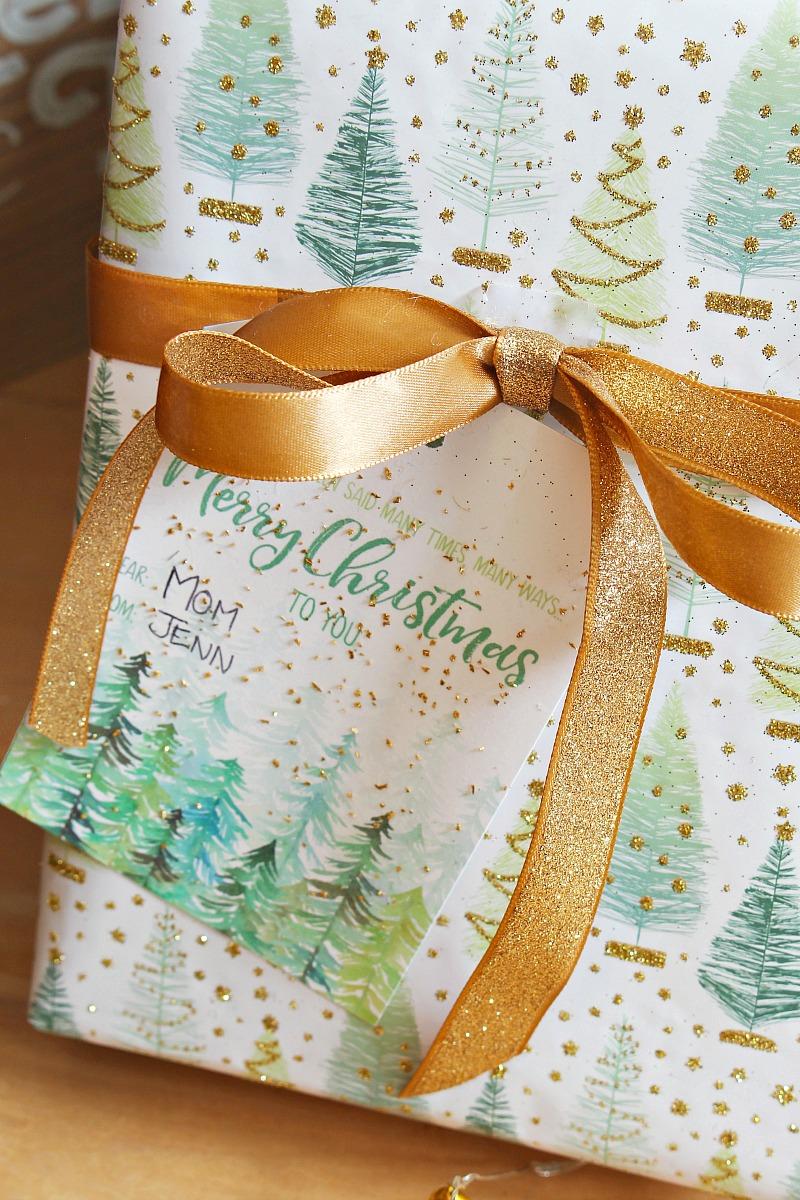 Merry Christmas to You free printable gift tags.