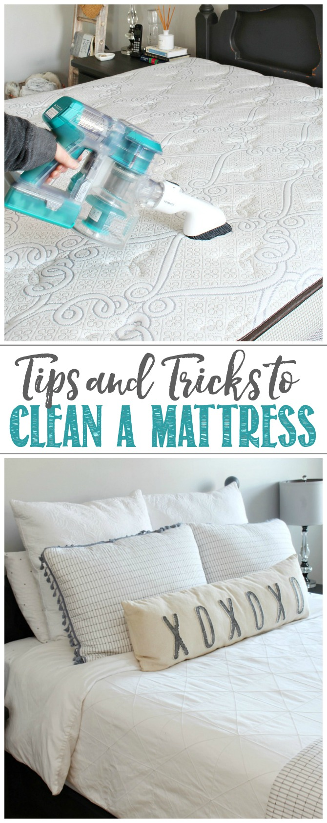 Tips and tricks to clean a mattress.