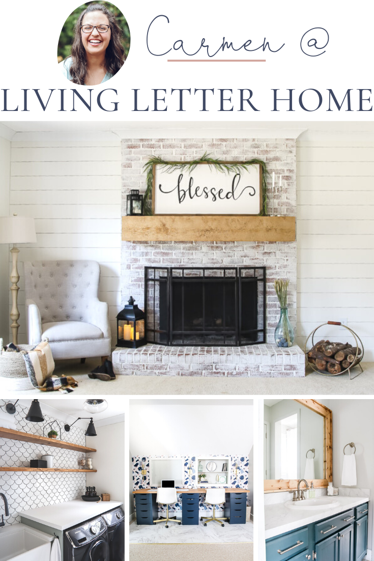 Collection of home decor ideas from Living Letter Home.