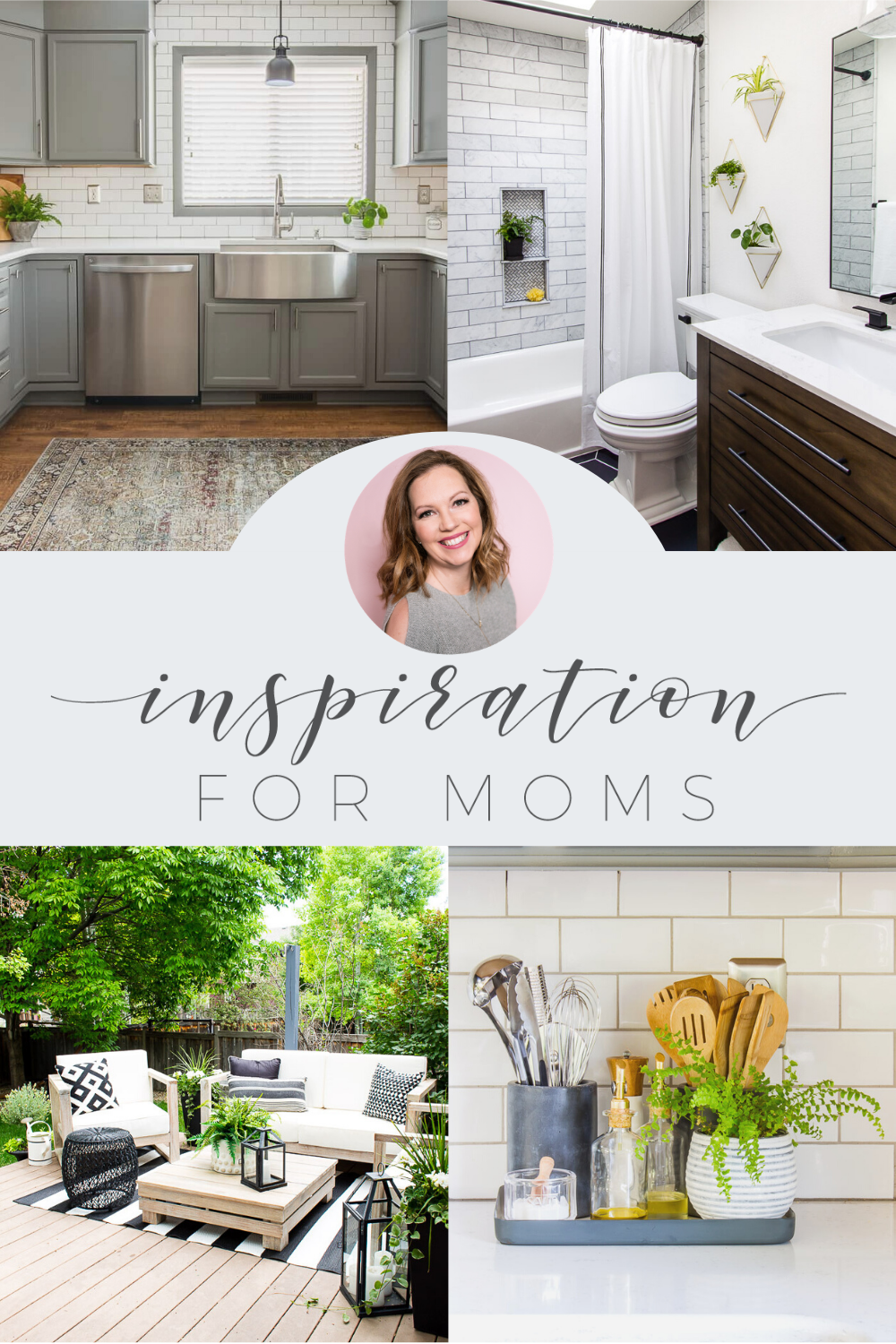 Collection of home decor from Inspiration for Moms.